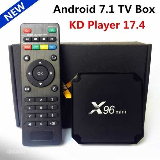 Оригинальные X96 Мини Android 7.1 Smart TV Box